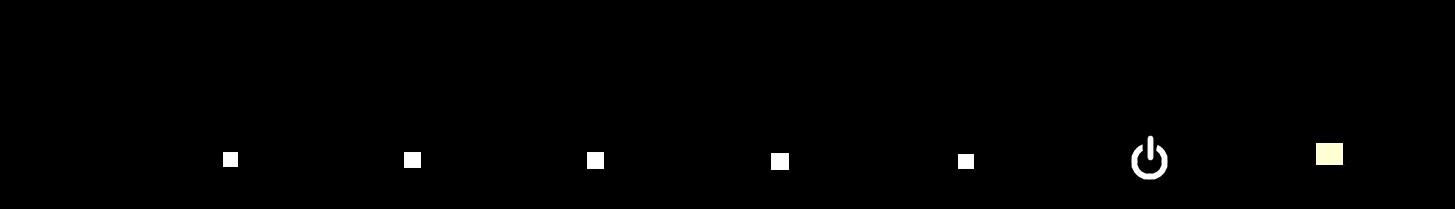 VP228HE コントロールボタン