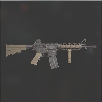 武器無限アサルトライフルCQBR