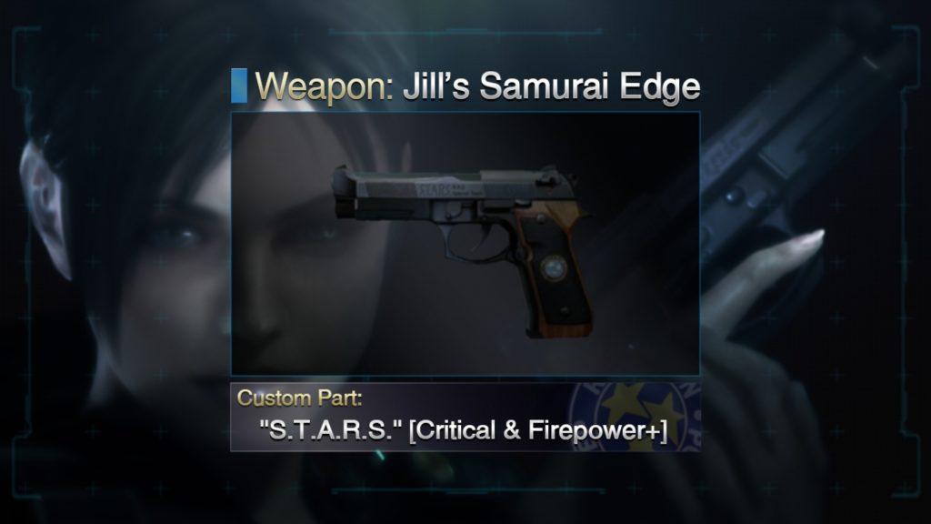 Jill's Samurai Edge