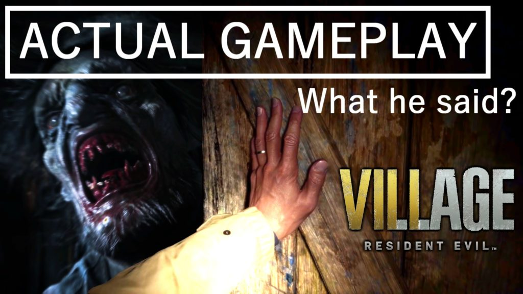 ACTUAL GAMEPLAY RESIDENT EVIL 8 VILLAGE