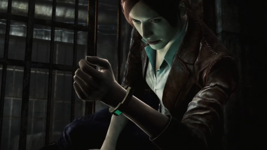 バイオハザードリベレーションズ2 クレア 腕輪緑