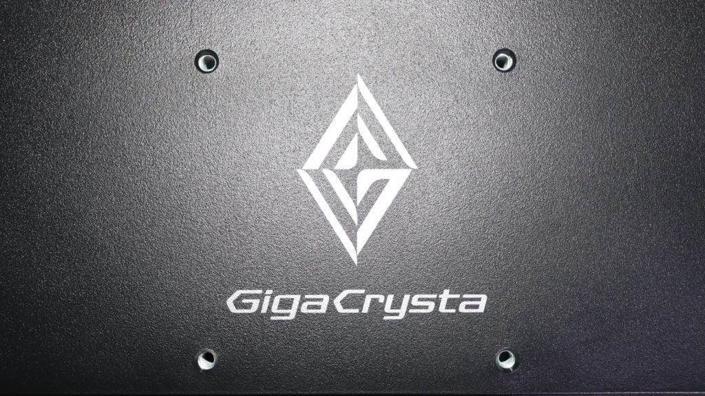 I-O DATA ゲーミングモニター EX-LDGC221HTB 21.5インチ GigaCrysta 144Hz/120Hz 0.6ms 液晶パネル 背面 VESA取り付け位置