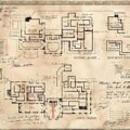 ジョージトレヴァーの書いた設計図 PLANNING OF SPENCER MANSIONS