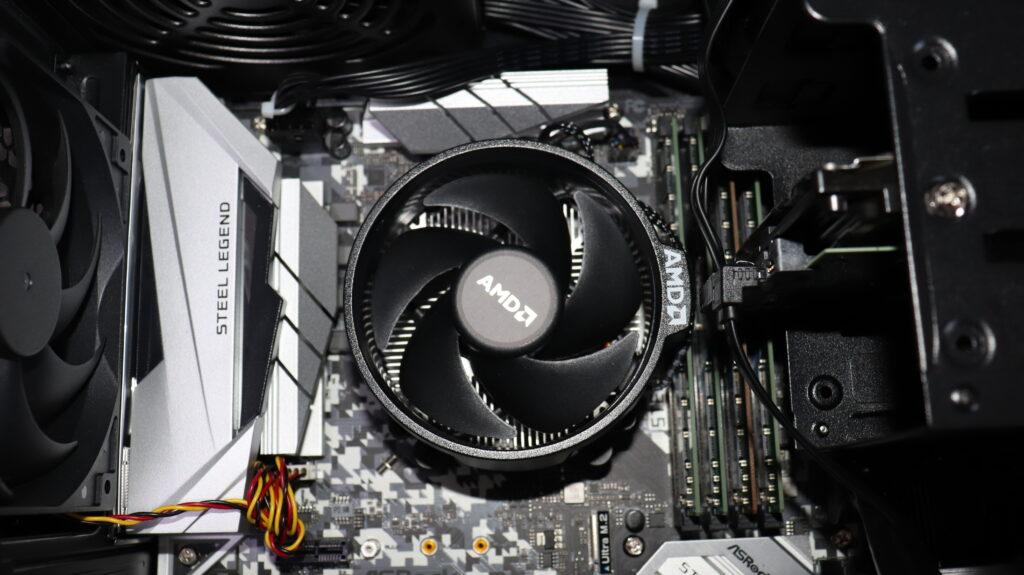 予算10万円ゲーミングPC CPU:AMD Ryzen 5 2600